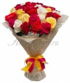 Букет Ягодный лимонад, 35 роз