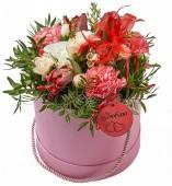 Шляпная коробка Розовые сны