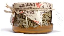 Мед Луговой с семенами подсолнечника