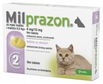 Милпразон  табл. антигельминтик, д/кошек и котят, 1 шт.