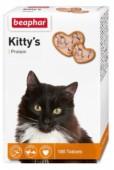 Beaphar Kittys+Protein  лак-во витаминное с протеином д/кошек, 180 шт.