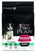 Pro Plan Medium Puppy Sensitive Digestion  д/щенков, ягненок/рис, 1,5 кг.