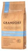 Grandorf Adult All Breeds д/собак, белая рыба/рис, 1 кг.