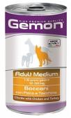 Gemon Adult Medium д/собак, курица/индейка, 1250 гр.