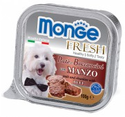 Monge Fresh  д/собак, говядина, 100 гр.