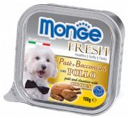 Monge Fresh  д/собак, курица, 100 гр.