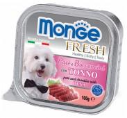 Monge Fresh  д/собак, тунец, 100 гр.