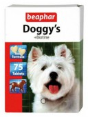 Beaphar Doggy's+Biotine  витаминная добавка д/собак, 75 шт.