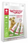 Mr Bruno капли репеллентные д/средних собак, 2,5 мл.