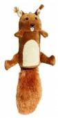 Игрушка GiGwi  Белка с большой пищалкой д/собак