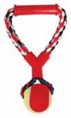 Грейфер веревка Triol  веревка цветн. ручка, мяч, д/собак