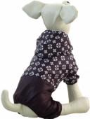 Дождевик TRIOL Геометрия, коричневый, д/собак