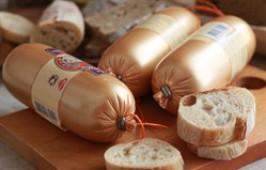 Колбаса паштетная с грибами, 250 гр.