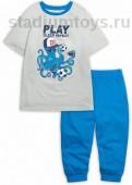 Пижама для мальчиков Серый 11 Pelican NFATB4056