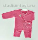 Комплект на девочку р.20-26, розовый