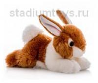 Игрушка мягкая Кролик коричневый, 28 см.
