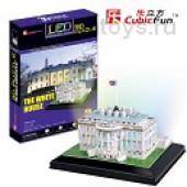 3D пазлы Белый дом с иллюминацией