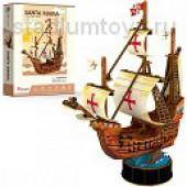 3D пазлы Корабль Санта Мария
