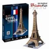 3D пазлы  Эйфелева Башня