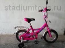 Велосипед 2-кол. 12, Стриж, розовый