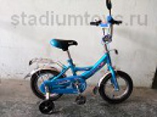 Велосипед 2-кол. 12, Стриж, голубой