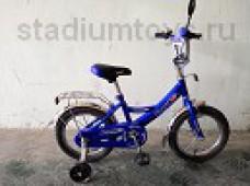 Велосипед 2-кол. 12, Стриж, синий