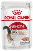 Влажный корм для кошек ROYAL CANIN INSTINCTIVE паштет, 85 гр.