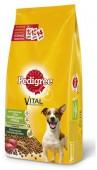 Сухой корм для собак PEDIGREE мелкие породы, с говядиной, 5.5 кг.