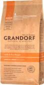 Сухой корм для юниоров GRANDORF Junior, ягненок с рисом, 12 кг.
