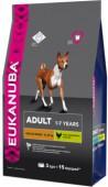 Сухой корм для собак EUKANUBA DOG средние породы, 3 кг.