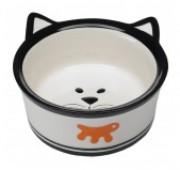 Миска для кошек VENERE Medium керамическая с ушами