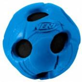 Игрушка д/собак NERF Dog Мяч с отверстиями, 6 см.