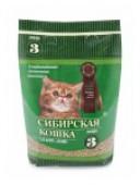Наполнитель д/кошачьего туалета СИБИРСКАЯ КОШКА Лесной для котят, 3 л.