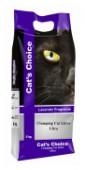 Наполнитель бентонит Indian Cat Litter Аромат №4 Лаванда 5 кг.