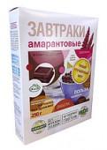 Завтрак амарантовый pбез глютена с темным шоколадом, 250 гр.