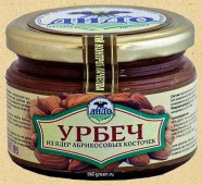 Урбеч-паста из абрикосовых косточек, 270 гр.