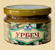 Урбеч-паста из семян тыквы, 270 гр.