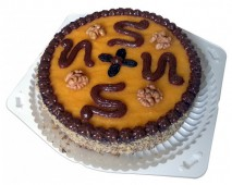 Торт сыроедческий Инга, 1,2 кг.