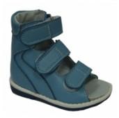 Сандалии Baby-ortho, 1.6 голубые, 23-26