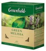 Чай Greenfield, Green Melissa зеленый