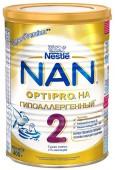 Молочная смесь Nan Optipro 2 гипоаллергенная