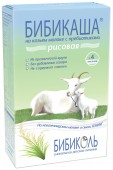 Каша Бибиколь молочная Рисовая на козьем молоке