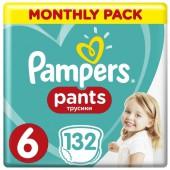 Подгузники-трусики Pampers Pants, 132 шт, 15+ кг.