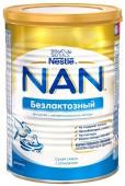 Молочная смесь Nan безлактозная с рождения, 400 г, 1 шт.