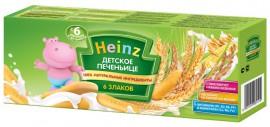 Печенье Heinz 6 Злаков, 160 г, 1 шт.